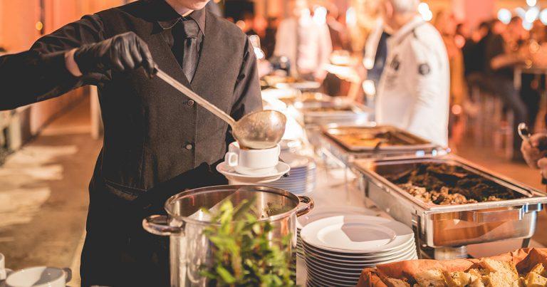 Mondschein Catering Leipzig Referenzen Buffet
